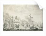 The Battle of The Sound, 29 October - 8 November 1658 by Willem van de Velde the Elder