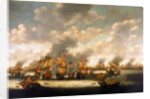 The Four Days' Battle, 1-4 June 1666 by Pieter Cornelisz van Soest