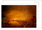 The Fire of London, September 1666 by British School