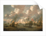 Dutch Attack on the Medway, 9-14 June 1667 by Pieter van den Velde