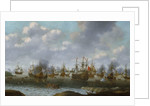 Dutch attack on the Medway, June 1667 by Pieter Cornelisz van Soest