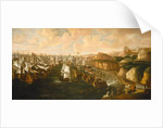 Landing of William III at Torbay, 5 November 1688 by English School