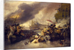 The Battle of La Hogue, 23 May 1692 by George Chambers