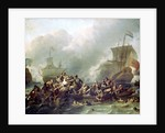 The Battle of Texel, 11 August 1673 by Ludolf Bakhuizen