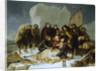 The death of Willem Barents, 20 June 1597 by Christiaan Julius Lodewyck Portman