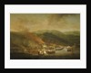 The bombardment of Bastia, 6 November 1745 by Samuel Scott