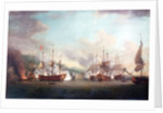 The capture of Port Louis, Cuba, 8 March 1748 by Richard Paton