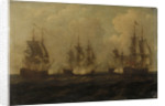 Action off Cape Francois, 21 October 1757 by John Cleveley