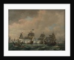 The Battle of Quiberon Bay, 20 November 1759 by Thomas Luny