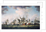 The Battle of Quiberon Bay, 20 November 1759 by Richard Paton