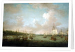 The capture of Havana: landing cannon and stores, 30 June 1762 by Dominic Serres the Elder