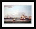 The British fleet entering Havana, 21 August 1762 by Dominic Serres the Elder