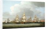 Destruction of the American Fleet at Penobscot Bay, 14 August 1779 by Dominic Serres the Elder