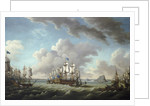 Relief of Gibraltar by Earl Howe, 11 October 1782 by Richard Paton