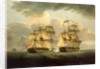 Action between HMS 'Venus' and the 'Semillante', 27 May 1793 by Thomas Elliott
