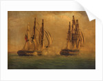 Action between HMS 'Crescent' and the 'Reunion', 20 October 1793: ships engaged by C. M. Jones