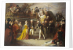 Visit of George III to Howe's Flagship, the 'Queen Charlotte', 26 June 1794 by Henry Perronet Briggs