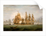 The Battle of Cape St Vincent, 14 February 1797 by British School