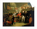 Nelson receiving the surrender of the 'San Josef' by Daniel Orme