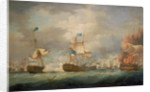 The Battle of Camperdown, 11 October 1797 by Thomas Whitcombe