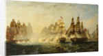 Dance's action in the Strait of Malacca, 14 February 1804 by William Adolphus Knell