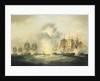 Four frigates capturing Spanish treasure ships, 5 October 1804 by Francis Sartorius