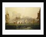 The Battle of Trafalgar, 21 October 1805 by Samuel Drummond