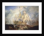 The Battle of Trafalgar, 21 October 1805 by Joseph Mallord William Turner