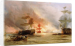 The bombardment of Algiers, 27 August 1816 by George Chambers