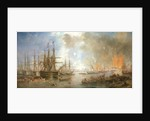 The bombardment of Sveaborg, 9 August 1855 by John Wilson Carmichael