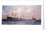 Queen Victoria's diamond jubilee review at Spithead, 26 June 1897 by Charles Dixon