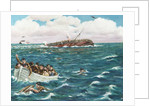 Sinking of the 'Lancastria', 17 June 1940 by Robert W. May