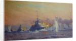 Bombardment of Genoa, 9 February 1941 by Norman Wilkinson