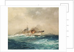 The sinking of the 'Bismarck', 27 May 1941 by Charles E. Turner