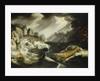 The wreck of the 'Amsterdam' by Cornelis Claesz van Wieringen