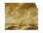 Shipping in a gale by Hendrick van Anthonissen