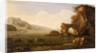Mediterranean coast scene by Gaspar van Eyck