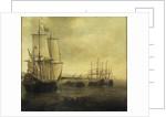 The Dutch ship 'Eendracht' by Jacob Adriaensz Bellevois