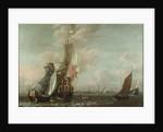 A Middelburg ship Lying off Antwerp by Jean-Baptiste Bonnecroy
