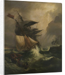 An American ship in distress by C. John M. Whichelo
