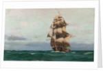 A frigate by John Fraser