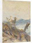 Vikings at sea by John Fraser