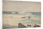 A coastal scene by John Fraser