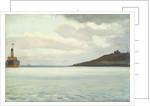 A ship off a headland by John Everett