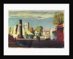 Harbour scene by John Everett