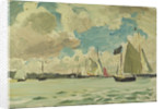 Yachting at Cowes by Herbert Barnard John Everett