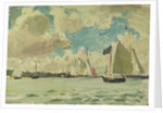Yachting at Cowes by John Everett