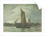 Yachting at Cowes by Herbert Barnard John Everett