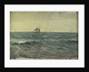 A sailing ship by John Everett