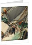 Reefing the mainsail by DG Bennett